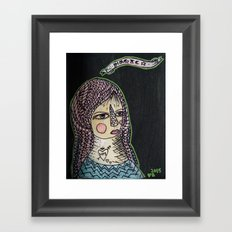 Magic Hair  Framed Art Print