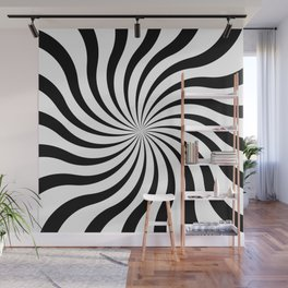 op art - sun twist Wall Mural