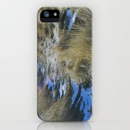 rabbit mountain (4) iPhone Case