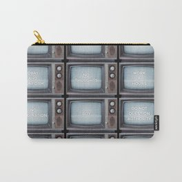 They Live TV Messages Carry-All Pouch