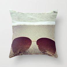 Life's a Beach Throw Pillow