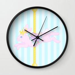 Carousel Jackalope Wall Clock