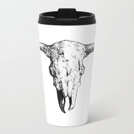 Skull_2 Metal Travel Mug