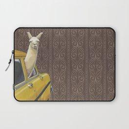 Taxi Llama Laptop Sleeve