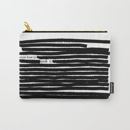 Between The Lines 4 Carry-All Pouch