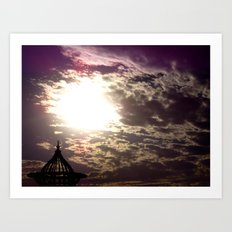 Egyptian Skies Art Print