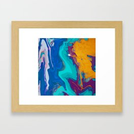 Acrylics By KD Framed Art Print