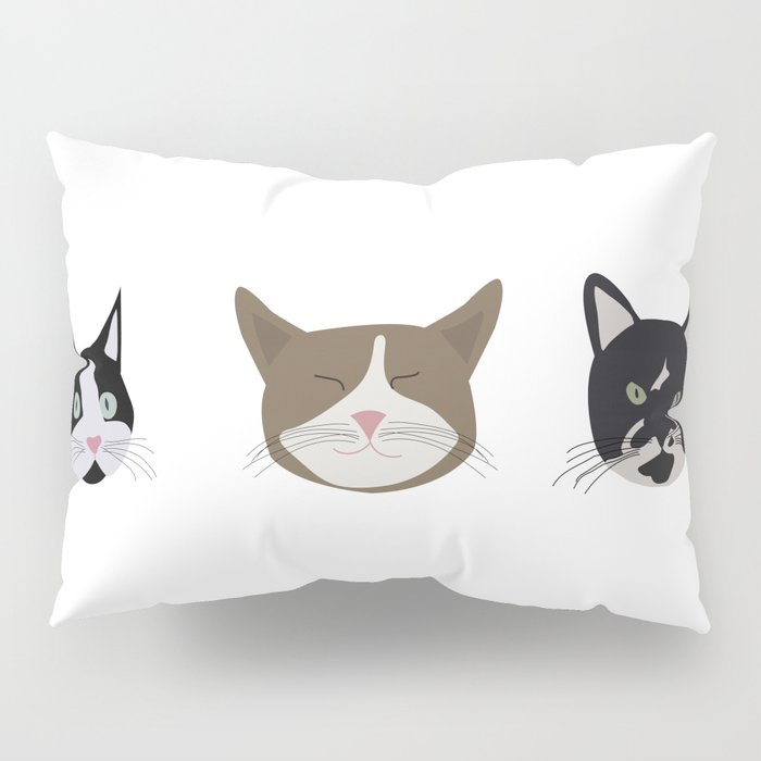 Cats & Makeup Pillow Sham