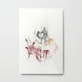 Assassins Creed - Splatter Artwork Metal Print