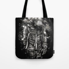 Lost In Cosmic Shades Tote Bag