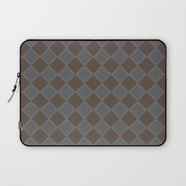 Primitive Tudor Style Diamond Pattern Laptop Sleeve