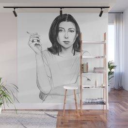 Joan Didion Wall Mural