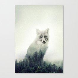 Fox, Forest Animal, Woodlands, Wilderness Canvas Print