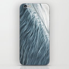 Horse mane photography, fine art print n°1, wild nature, still life, landscape, freedom iPhone Skin