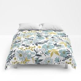Harper - Dusk Blue Comforters