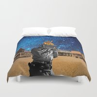 western Duvet Covers featuring Western by Cs025