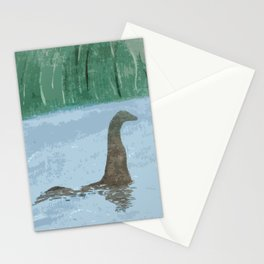 Nessie Through The Mist Stationery Cards