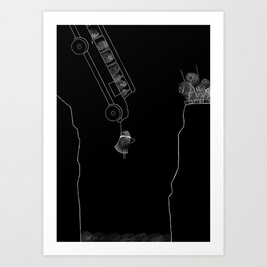 Fingerprint III Art Print