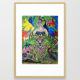 Welcome to the Amazon Framed Art Print
