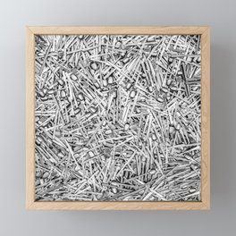 Cutlery Framed Mini Art Print