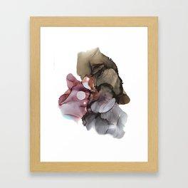 go with the flow Framed Art Print