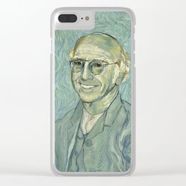 Vincent van Schmuck Clear iPhone Case