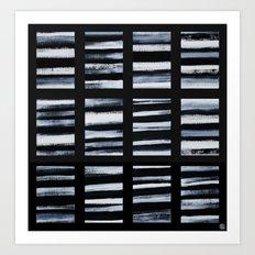 Faded Lines Art Print