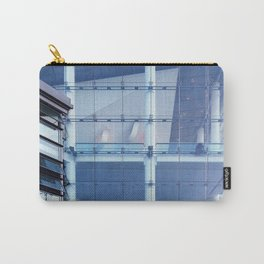 Transparent August Solitudes Carry-All Pouch