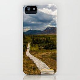 The Tablelands, Gros Morne National Park iPhone Case