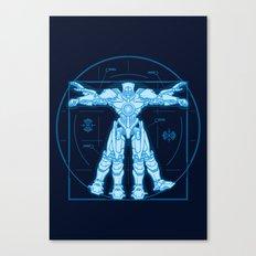 Vitruvian Jaeger Canvas Print