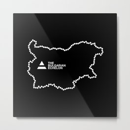 The Bulgarian Echelon (B/W) Metal Print