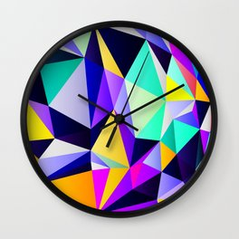 Geometric No. 12 Wall Clock