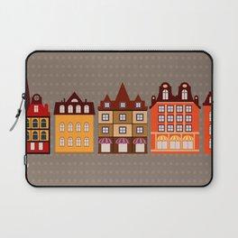 Vintage town Laptop Sleeve
