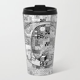 The Letter C Metal Travel Mug