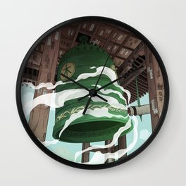 Calling the spirits Wall Clock