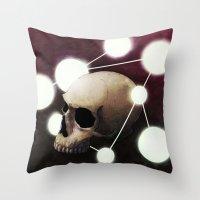 alchemy Throw Pillows featuring Alchemy by Fabrice Gagos