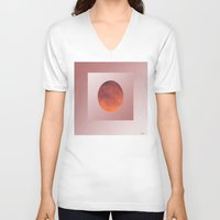 cloud V-neck T-shirts featuring Cloud by Hemmo Vattulainen