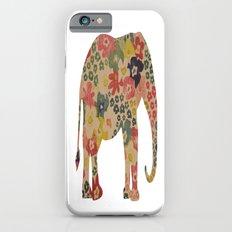 Flower Power Elephant Slim Case iPhone 6s