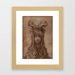 K' Framed Art Print