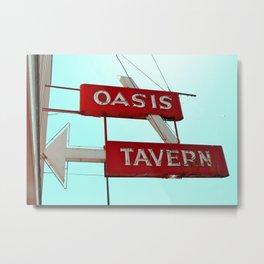 Classic tavern sign Metal Print