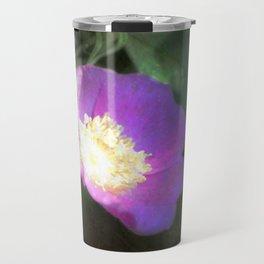 glowing old fashioned rose elegance Travel Mug