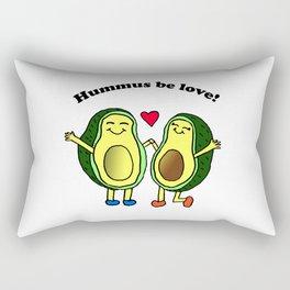 Hummus Be Love! Rectangular Pillow