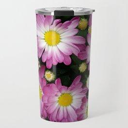 Purple chrysanthemum flowers Travel Mug