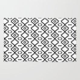 Black and White - Navajo Rug