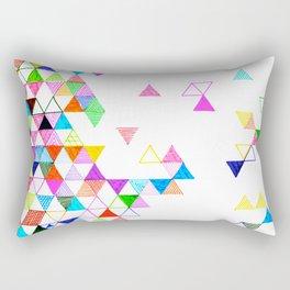 Falling Into Place Rectangular Pillow