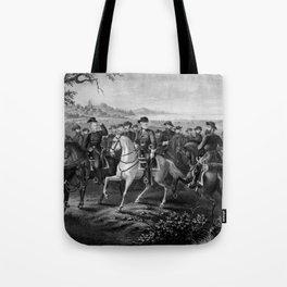 Robert E. Lee and His Generals Tote Bag