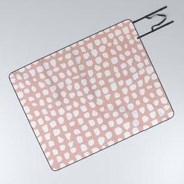 Dots / Pink Picnic Blanket
