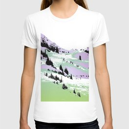 Spring mountains fantasy T-shirt
