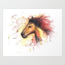 Redhead 1 Art Print
