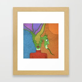Acid Trip Framed Art Print